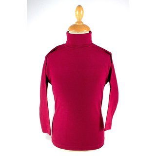 Living Crafts - Rollkragen-Pullover Bordeaux 104